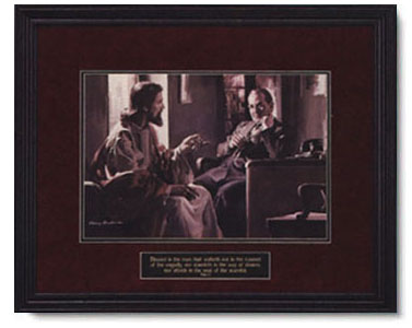Harry Anderson Divine Counselor Christ Centered Art