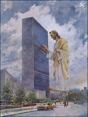 Harry Anderson Prince Of Peace Jesus Christ At Un