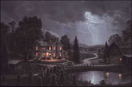 Jesse Barnes Ahead Of The Storm Paper And Canvas Art