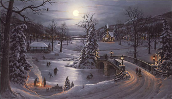 Jesse Barnes When Snowflakes Fall Christ Centered Art