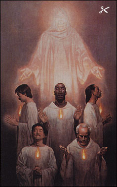 Thomas Blackshear Keepers Of The Flame Christ Centered Art