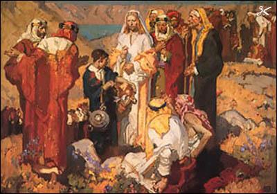 Dean Cornwell - Feeding the 5,000 - Christ-Centered Art