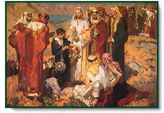 Dean Cornwell Feeding The 5 000 Christ Centered Art