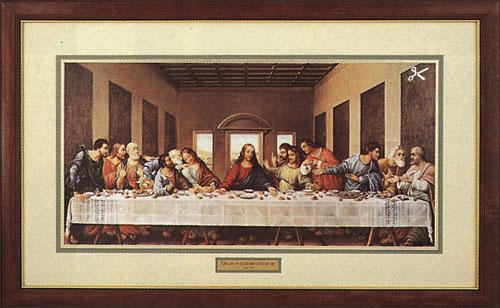 leonardo davinci last supper christcentered art