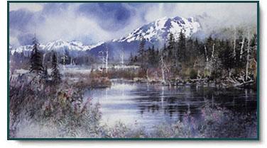 nita engle wild river moose christcentered art