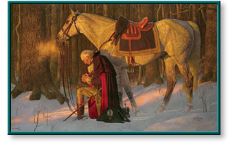 Arnold Friberg - The Prayer at Valley Forge - Open Editions ...