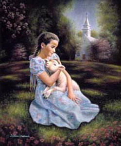 William Hallmark - Blessed are the Pure in Heart - Christ-Centered Art