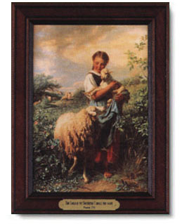 Johann Baptist Hofner The Little Shepherdess Christ