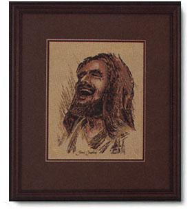 Ralph Kozak Laughing Jesus Christ Centered Art