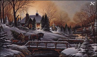 Terry Redlin Heading Home Christ Centered Art