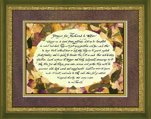 Candy Roe A Prayer For Husband And Wife Christ