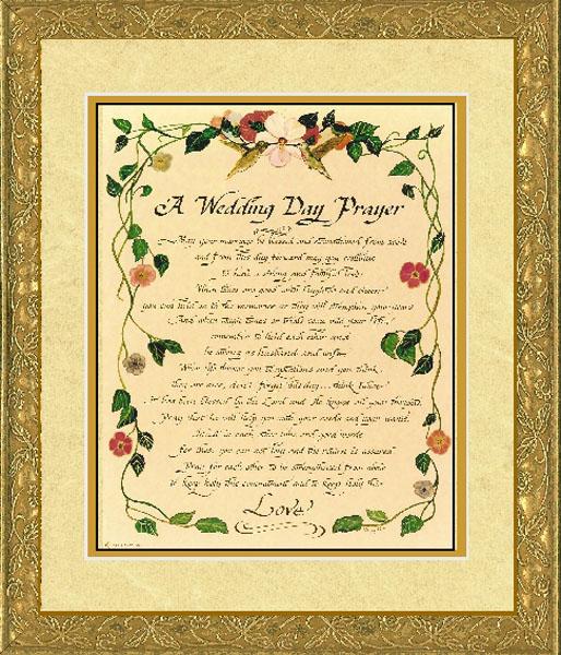 Wedding Day Insurance: A Wedding Day Prayer
