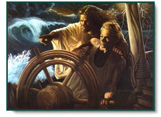 Stephen S Sawyer The Storm Pilot Christ Centered Art