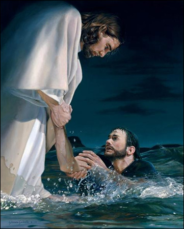 Against The Wind on Jesus Walks On The Water Order Story