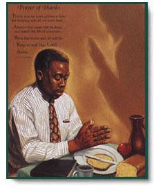 Schwarze christliche männer aus