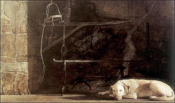 Andrew Wyeth Ides Of March Christ Centered Art