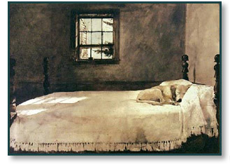 Andrew Wyeth Master Bedroom Christ Centered Art